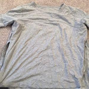 Grey lululemon shirt